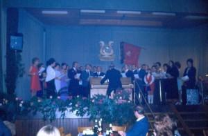 25 Jahre Gesangverein Liederkranz.