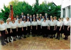 50 Jahre Gesangverein Liederkranz.